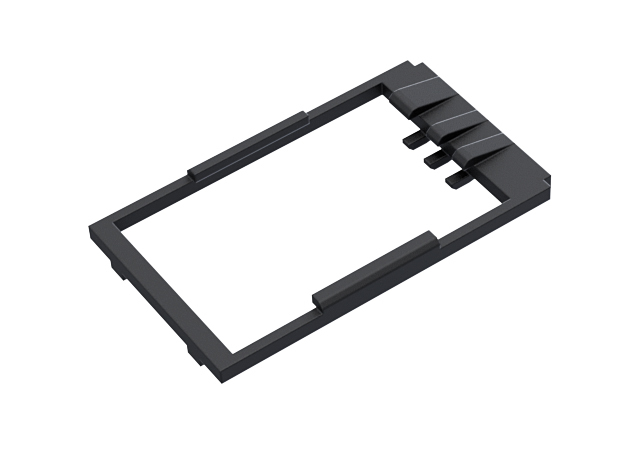 Revanted chassis GHv3 Holder in Black Natural Versatile Plastic