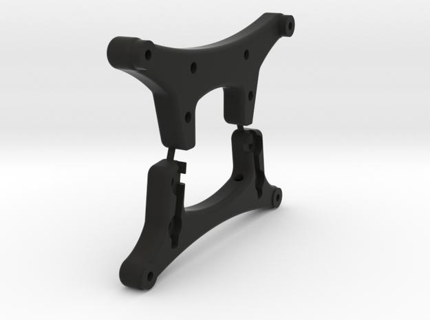 Damper stay set for Tamiya DT-03 in Black Natural Versatile Plastic