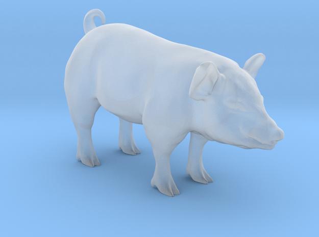 Plastic Pig v2 1:48-O in Smooth Fine Detail Plastic