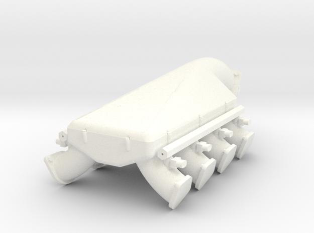 Boss 429-600 turbo intake 1/8 in White Processed Versatile Plastic
