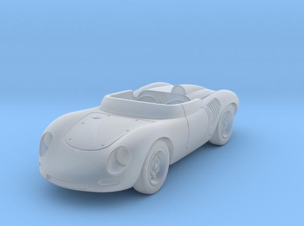 Porsche 718 1959 1:87 HO in Smooth Fine Detail Plastic