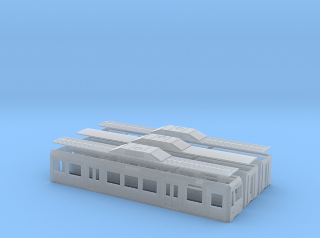 FEVE 3800 in Smooth Fine Detail Plastic: 1:120 - TT