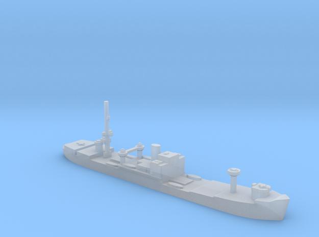 German Sperrbrecher 3 WW2 1:1250 masts in Smooth Fine Detail Plastic