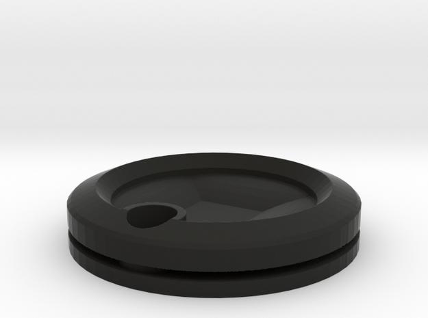 Colgante in Black Natural Versatile Plastic