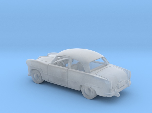 Ford Taunus 12M  1:120 TT in Smooth Fine Detail Plastic