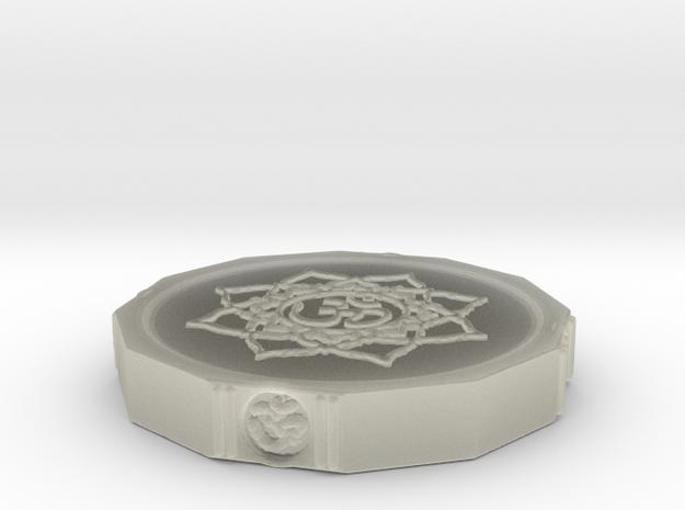 Aum Coin 3d printed
