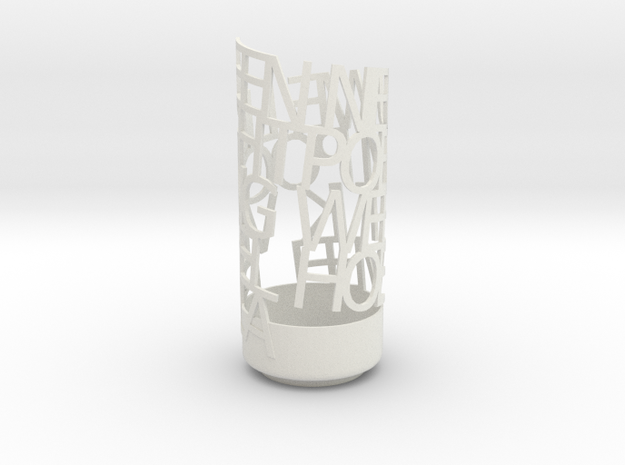 Light Poem new 1 3d printed