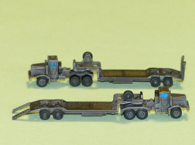 Faun 912 SA Tank Transporter 1/285 6mm in Smooth Fine Detail Plastic