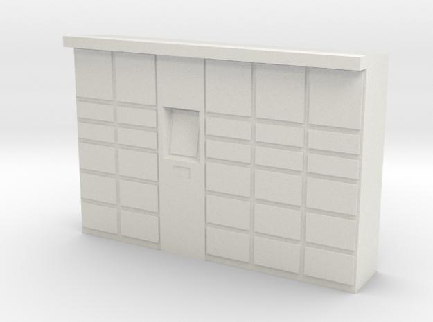 Parcel Locker 1/35 in White Natural Versatile Plastic