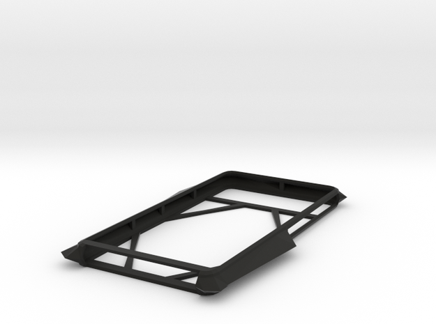 Essential Phone Case, Halfhearted Biface Edition in Black Natural Versatile Plastic