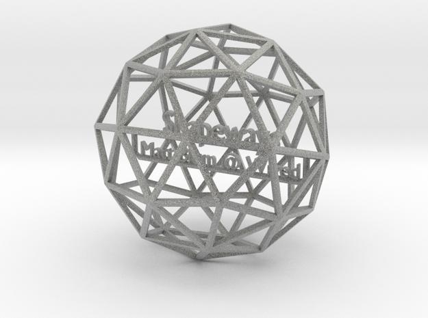 GeekDad sample 3d printed
