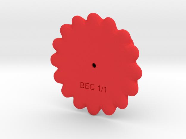 Red! 3d printed