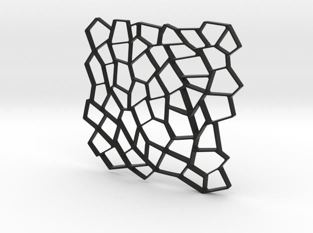 Square Platter 3d printed