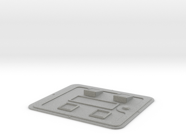 Arcade Coin Door D 3d printed