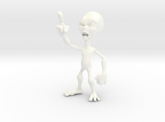 Angry Alien 3d printed