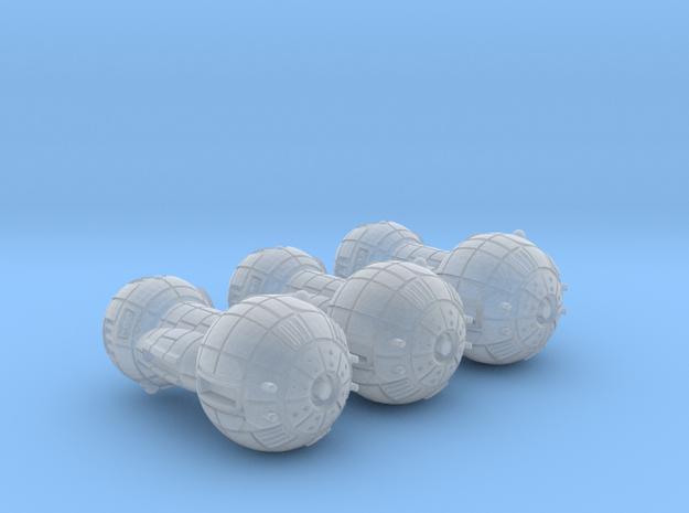 Terran (TFN) Battle Cruiser (alt) Datagroup in Smooth Fine Detail Plastic