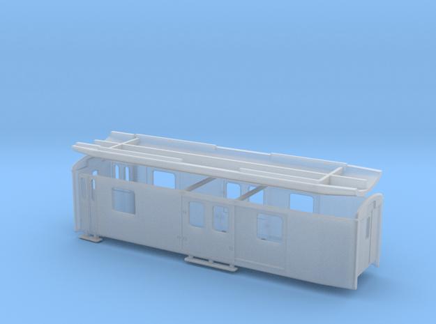 RhB DZ 4231-4233 in Smooth Fine Detail Plastic: 1:150