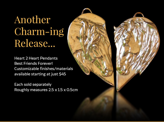Heart2Heart - Side A in Natural Bronze