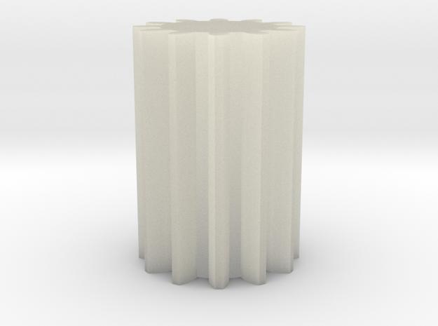 Gear - w/ 12 teeth 3d printed