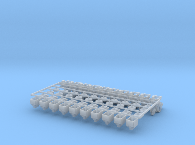 3000Row Units (10) in Smooth Fine Detail Plastic