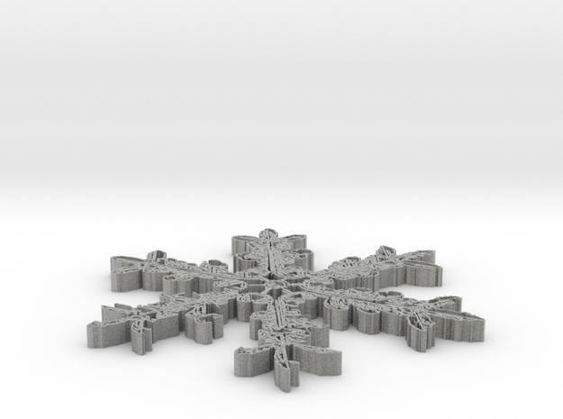 Snowflake coaster 3d printed