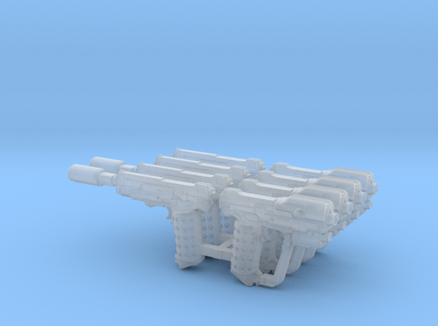 MCX Halo 5 Magnum Mixed 8x in Smoothest Fine Detail Plastic