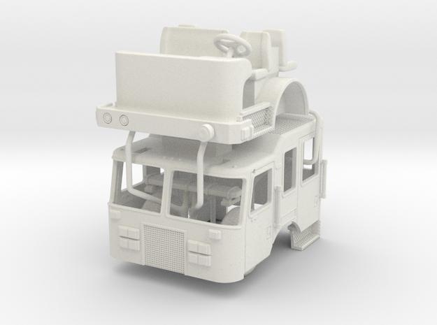 1/50 Philadelphia 2017 KME Tiller Cab in White Natural Versatile Plastic