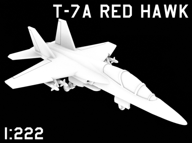 1:222 Scale T-7A Red Hawk (Loaded, Deployed)