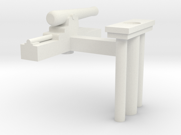 Gun Boat Gun parts 3d printed