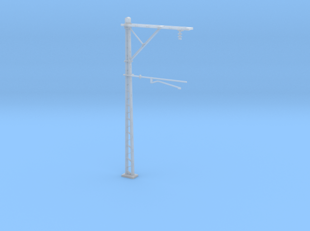 VR Stanchion 56mm (Standard) 1:87 Scale in Smooth Fine Detail Plastic
