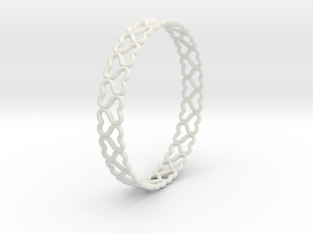 lovelink bracelet ($5) in White Strong & Flexible