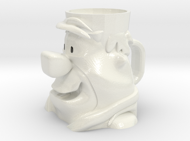 Fred Flintstone Cup in Glossy Full Color Sandstone