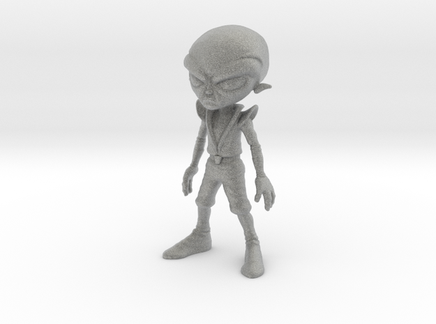 Alien Grey 3d printed