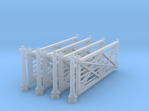 VR 14' #2 Gate 4 Pack 1-87 Scale in Smooth Fine Detail Plastic
