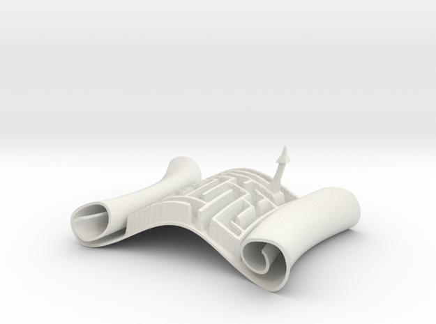 Magic Scroll ($18) 3d printed