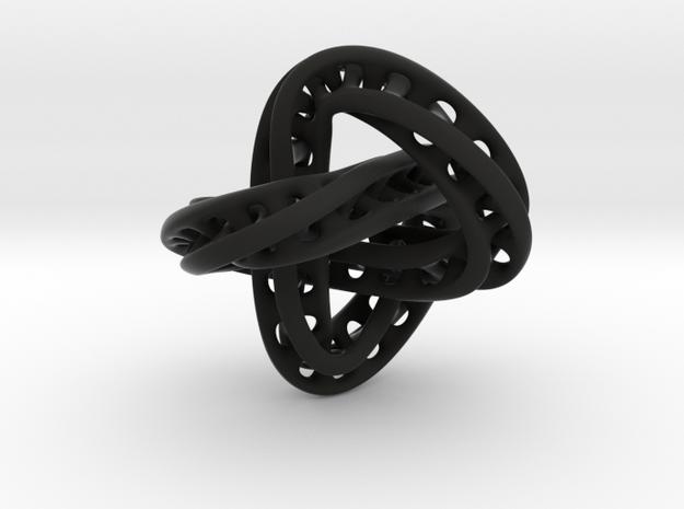 Trefoil Knot Double Moebius0,035.-8cm 3d printed
