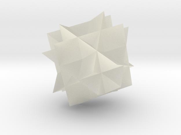 cuboctstella 3d printed