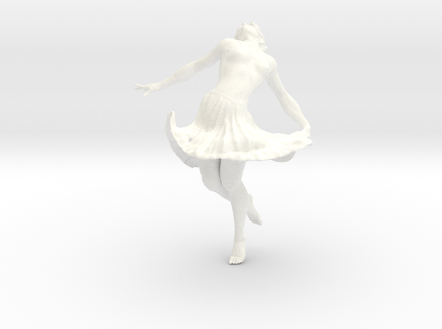 Dancing Girl 10.0 cm 3d printed