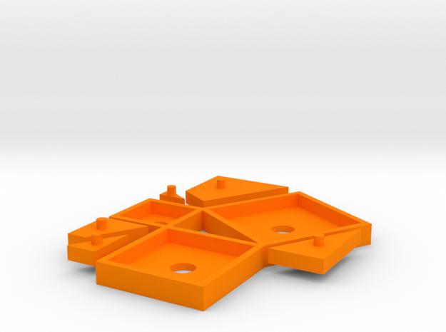 Pythagoras puzzle (small) 3d printed