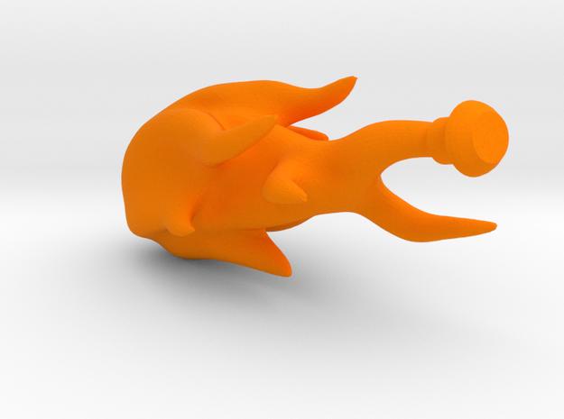 MOTUC Flame effect in Orange Processed Versatile Plastic