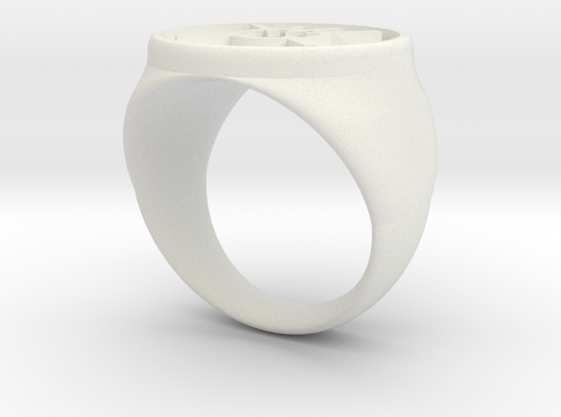 Agent Orange Ring (21) 3d printed
