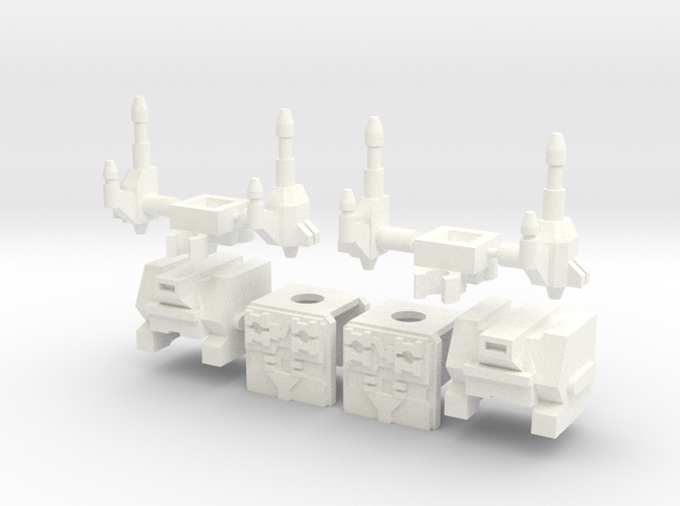Double Tremble Upgrade Kit 3d printed
