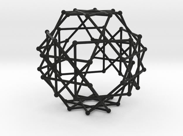 quasitruncatedcuboctahedron 3d printed