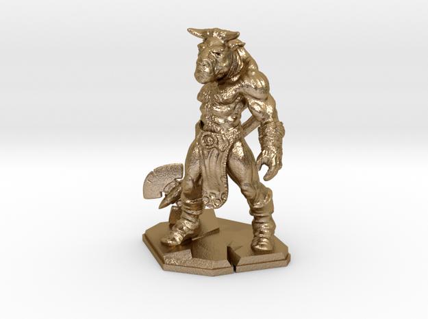 Minotaur miniature 39mm 3d printed