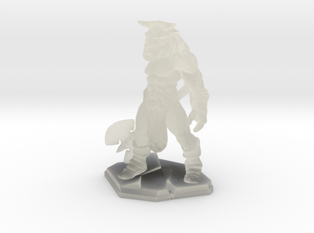 Minotaur miniature 39mm 3d printed