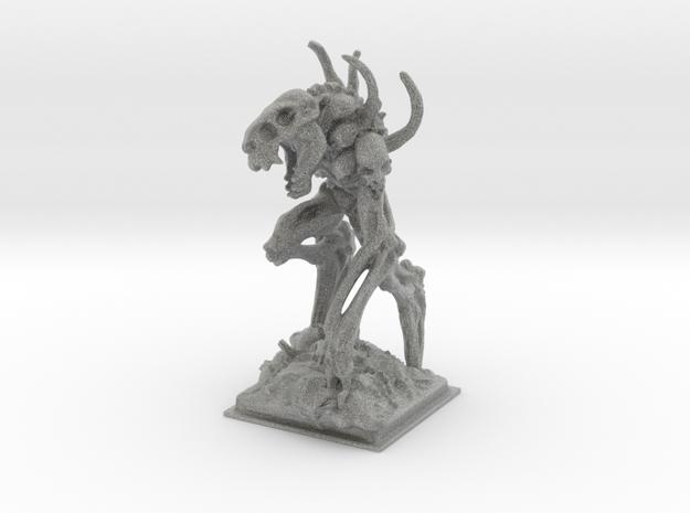 Bone golem miniature 77mm 3d printed