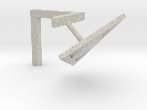 Penrose Triangle 3d printed
