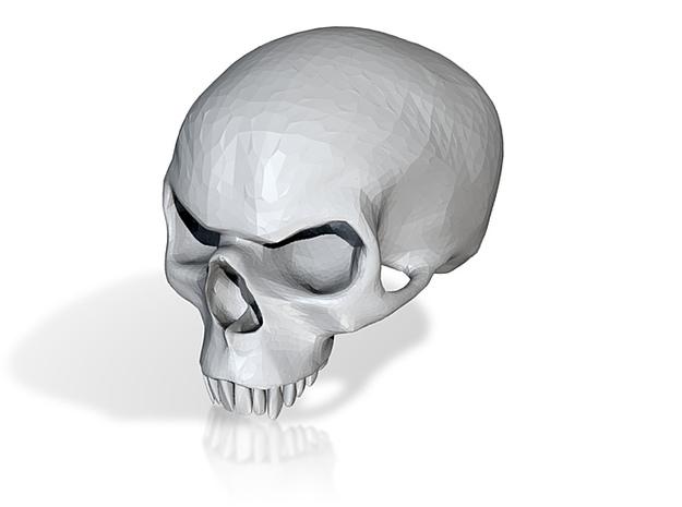 Mean Skull 3d printed