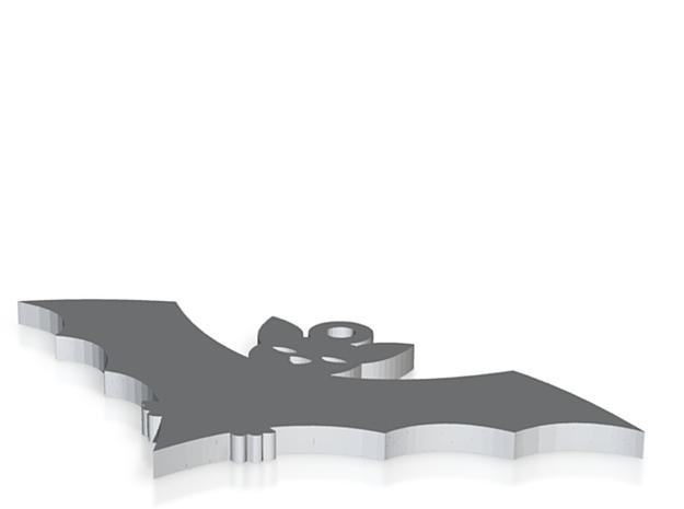 Fledermaus 3d printed
