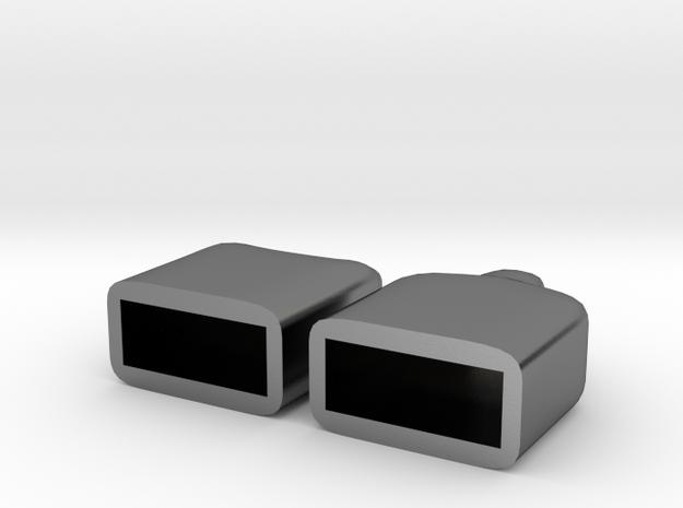 Plain USB caps 3d printed